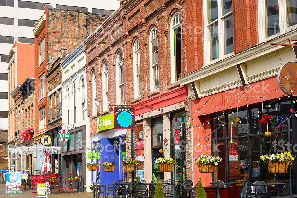 Knoxville Tennessee Downtown Restaurants And Bars On Market