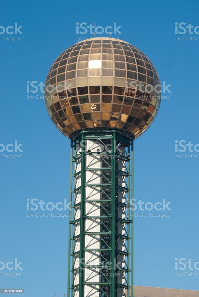 Knoxville, Tennessee Skyline stock photo