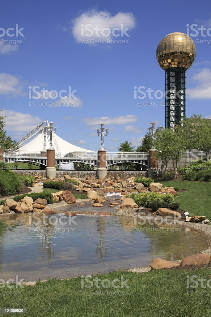 Knoxville World's Fair Park stock photo