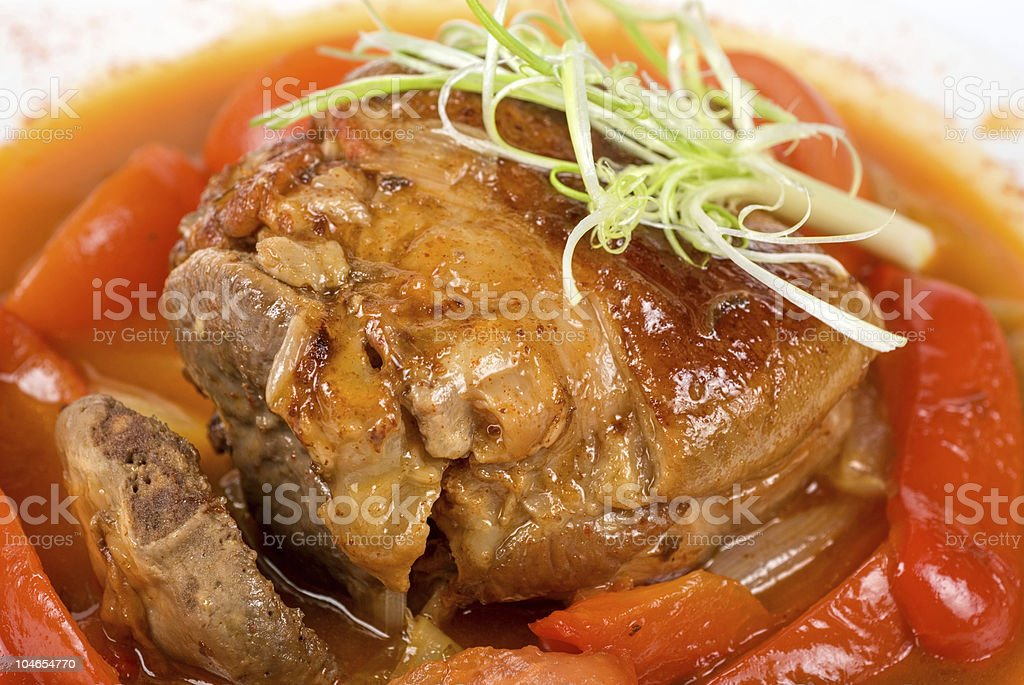 knuckle of veal royalty-free stock photo