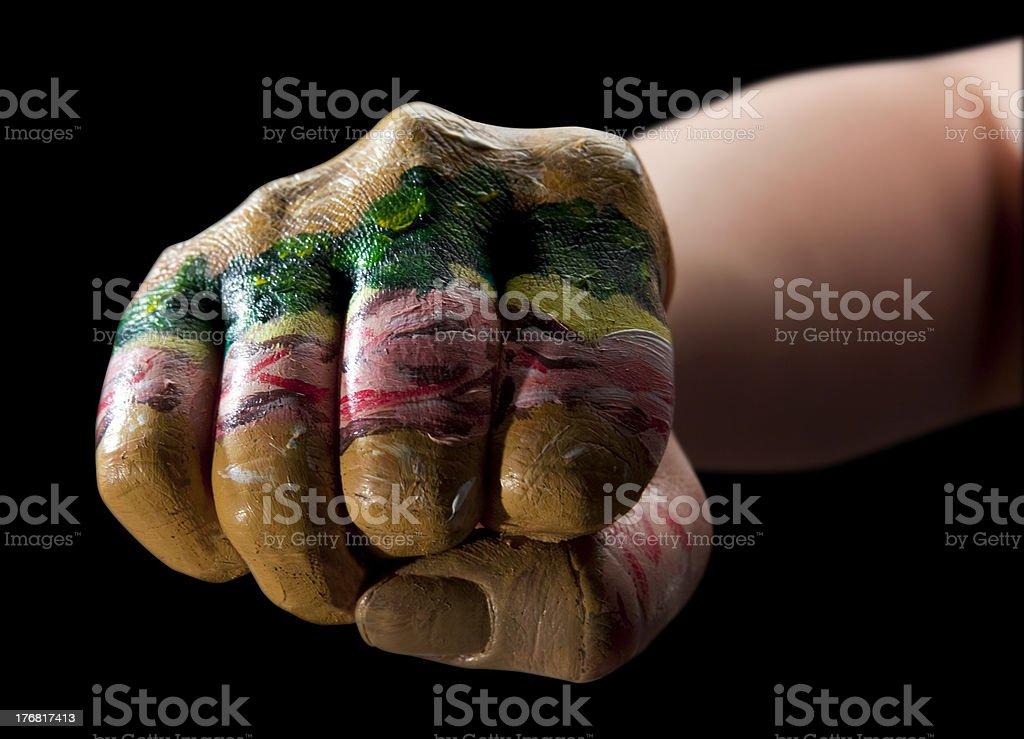 Knuckle Sandwich stock photo