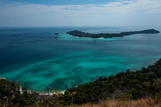 Ko Adang Island near Koh Lipe, Thailand. stock photo