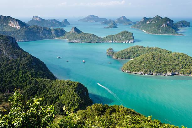 ko angthong marine park stock photo