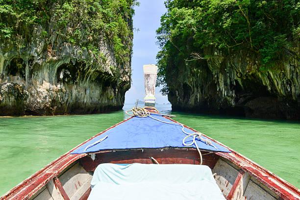 Ko Hong Island, Phang Nga Bay, Thailand stock photo