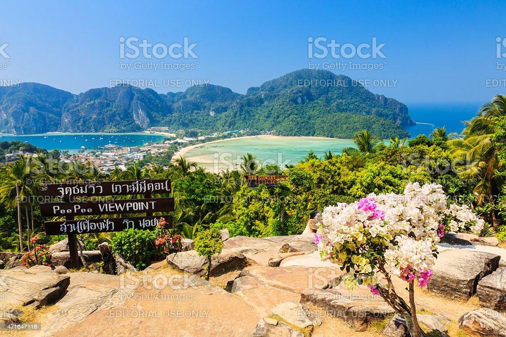 ピーピー島(タイ)  ロイヤリティフリーストックフォト