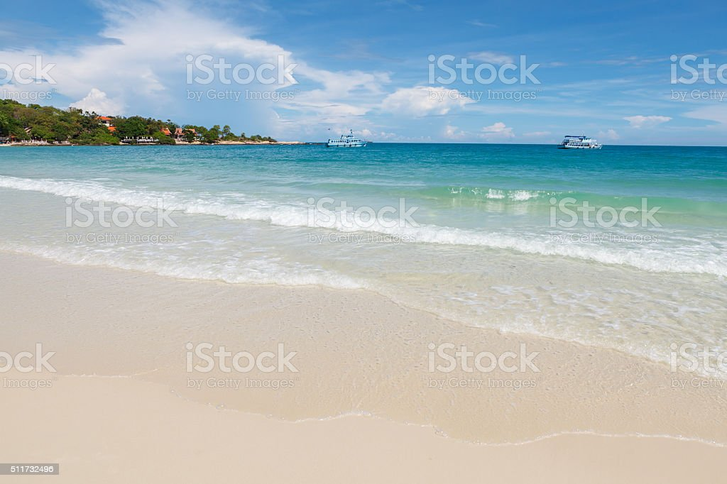 Ko Samed is a rather small island, Thailand. stock photo