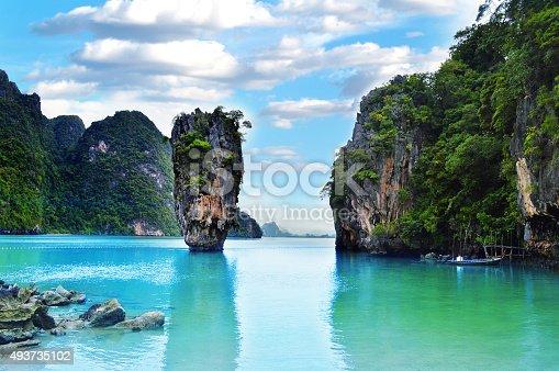 James Bond Island in Thailand - Phuket Province