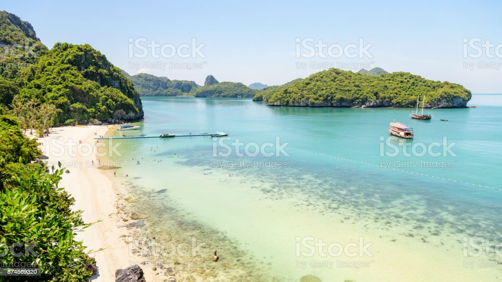 Ko Wua Ta Lap Viewpoint stock photo