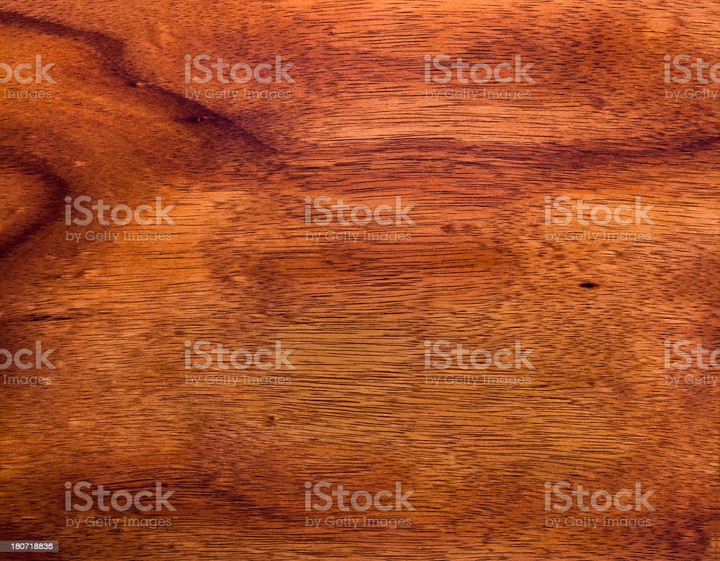 Koa Wood Grain Background royalty-free stock photo