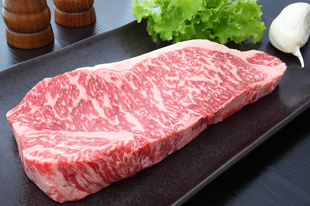 kobe beef - beef stock pictures, royalty-free photos & images