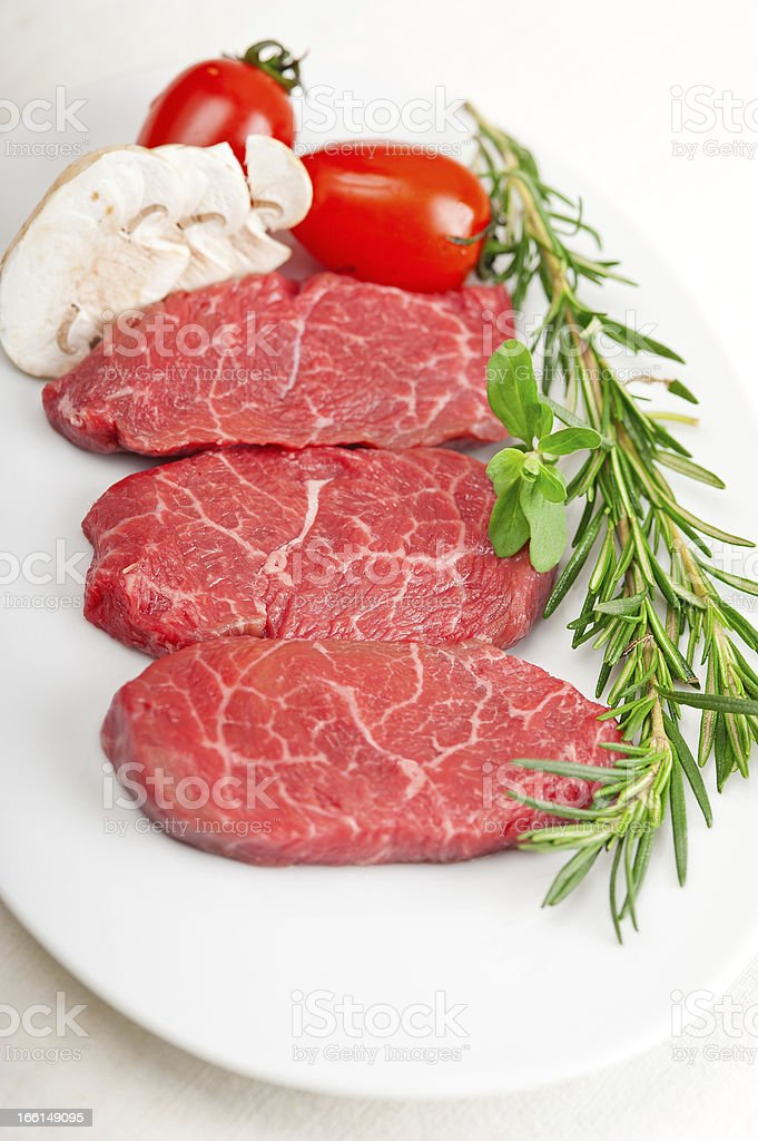 Kobe Miyazaky beef stock photo