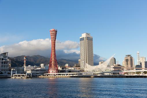 Kobe Skyline in Japan