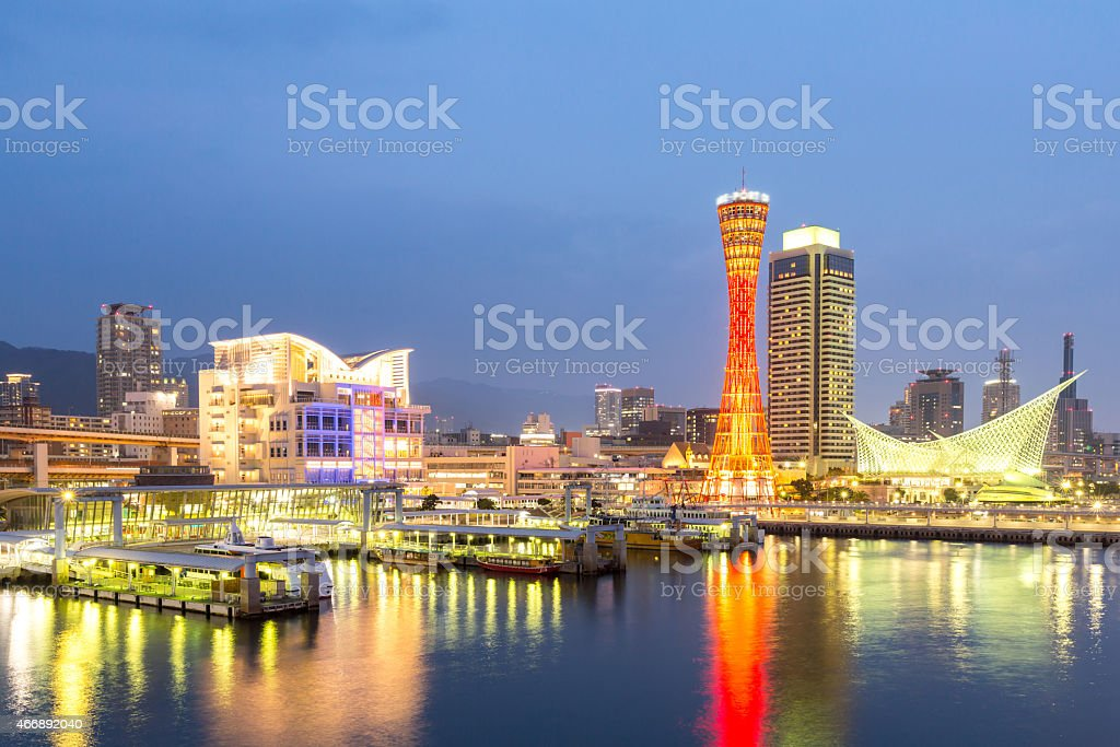 Kobe Tower Japan stock photo