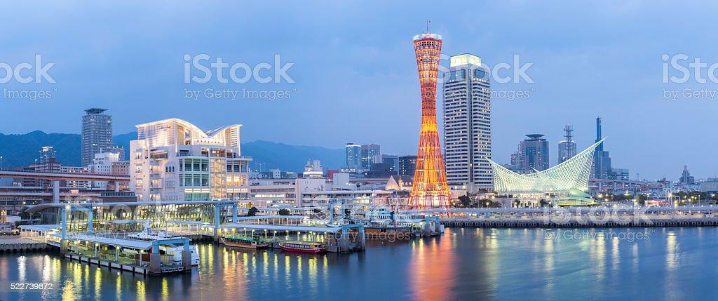 Kobe Tower Panorama stock photo