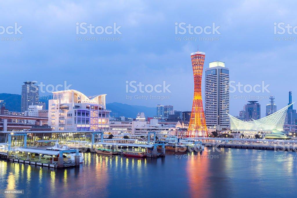 Kobe Tower stock photo