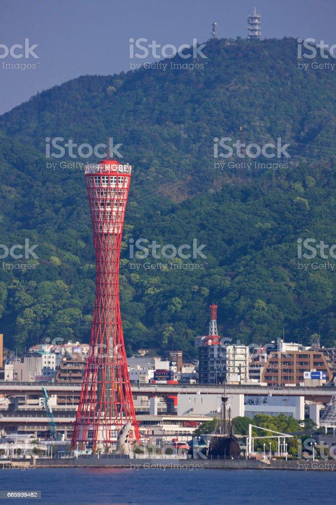Kobe waterfront foto stock royalty-free