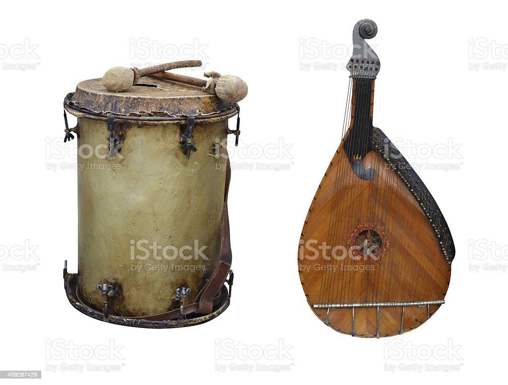 kobza барабан стоковое фото