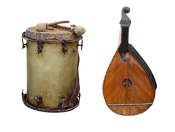 Cтоковое фото kobza барабан
