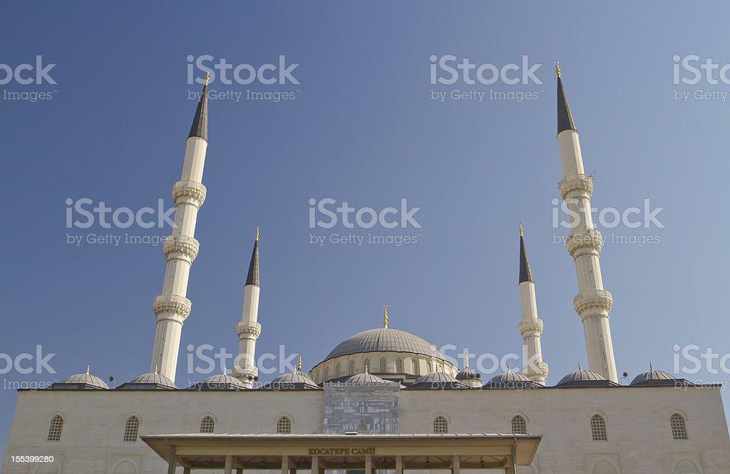Kocatepe Mosque in Ankara stock photo