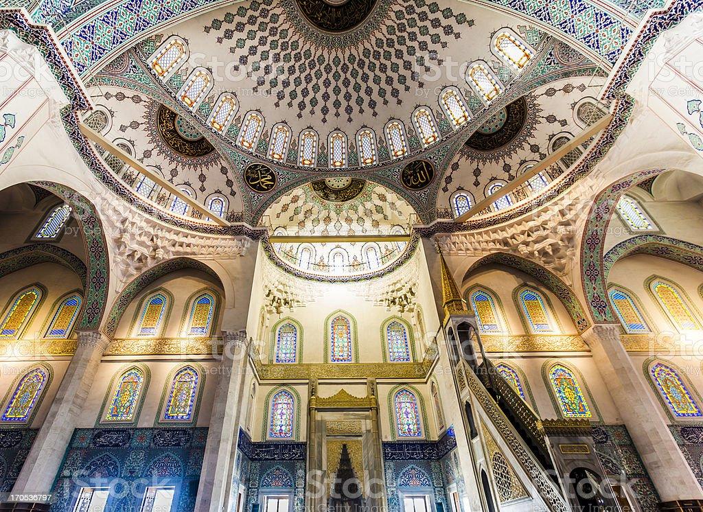 Kocatepe-Moschee innen – Foto
