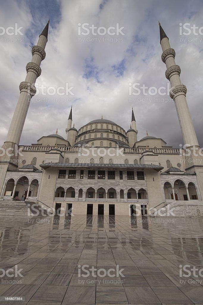 Kocatepe Mosque royalty-free stock photo