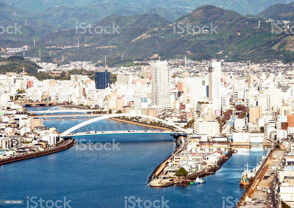 Kochi city scenery stock photo