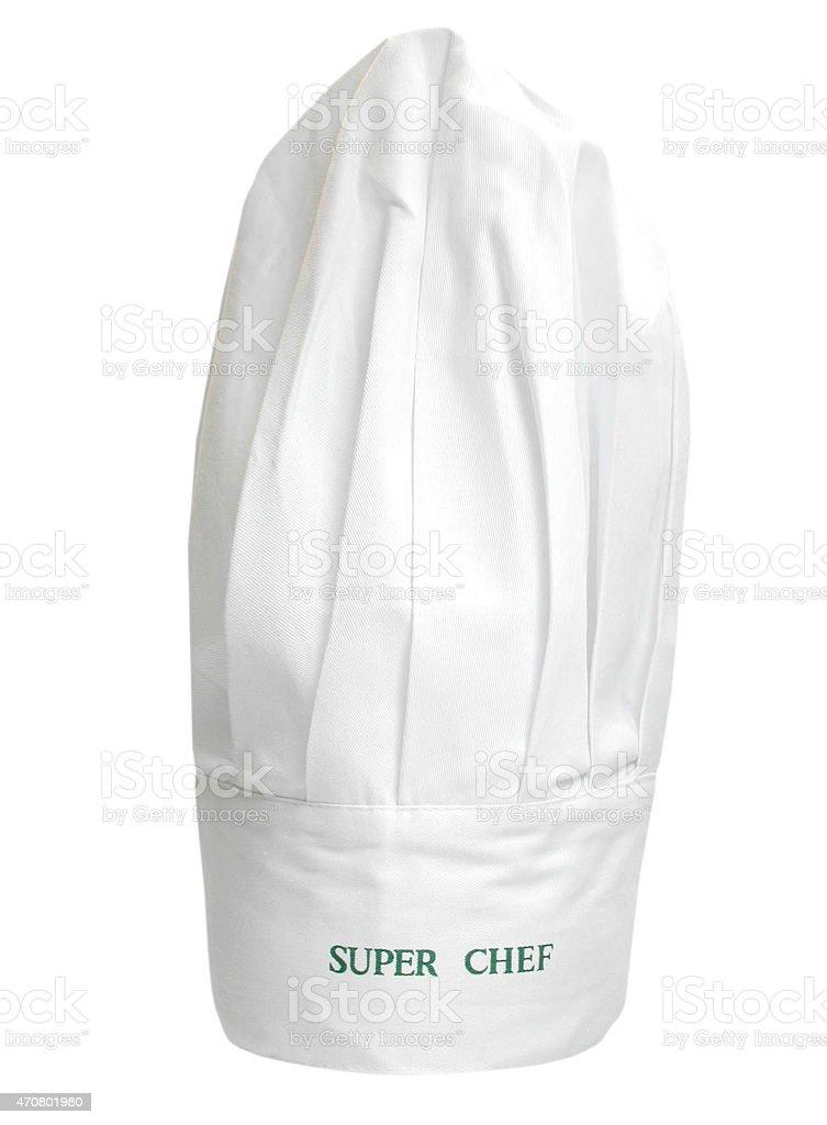 Kochmütze Super Chef stock photo
