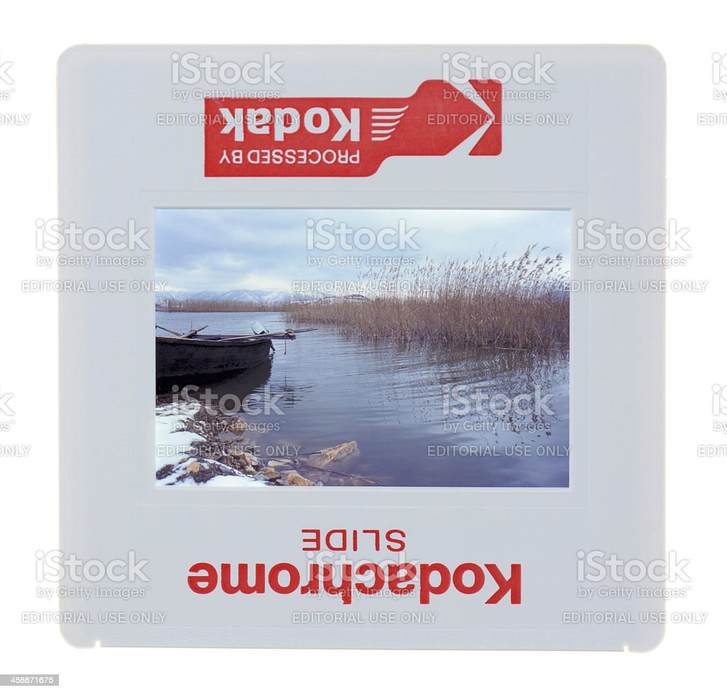 Kodachrome Slide royalty-free stock photo