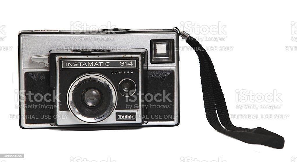 Kodak Camera royalty-free stock photo