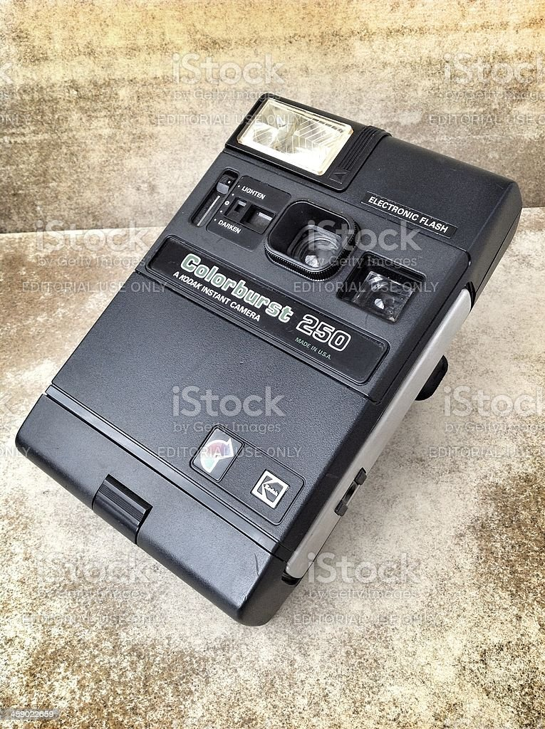 Kodak Colorburst 250 Instant Camera royalty-free stock photo