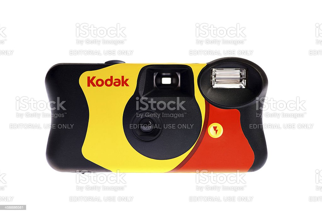 Kodak disposable camera stock photo