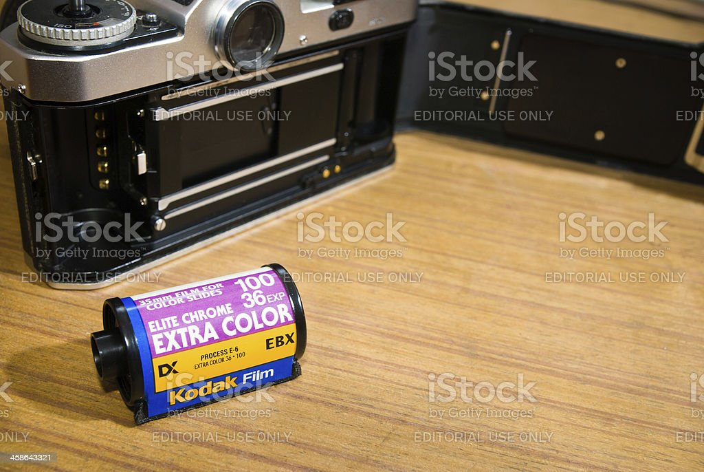 Kodak Elite Chrome - Extra Color royalty-free stock photo