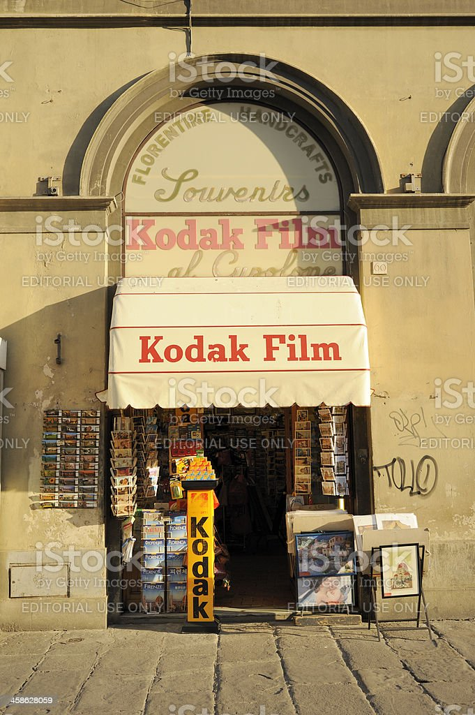 Kodak Film Souvenir Store Stock Photo - Download Image Now - iStock