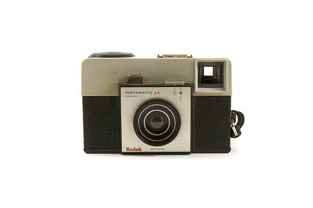 Kodak Instamatic 25 stock photo