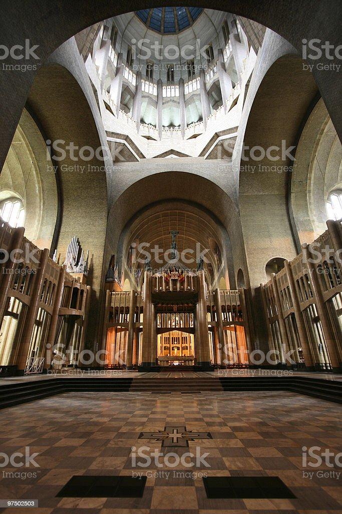Koekelberg basilica royalty-free stock photo
