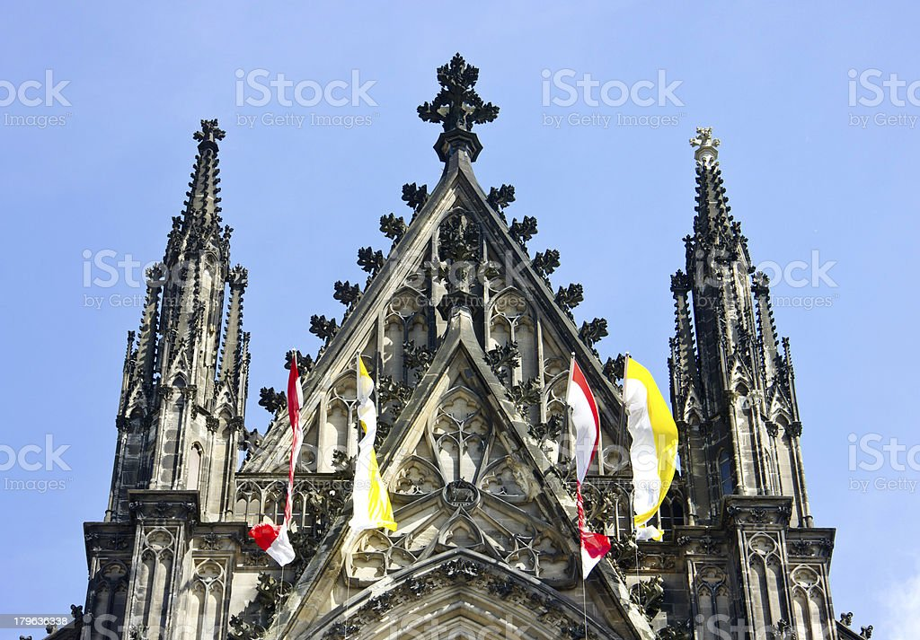 Koelner Dom (Cologne Cathedral) in Koelne, Germany royalty-free stock photo
