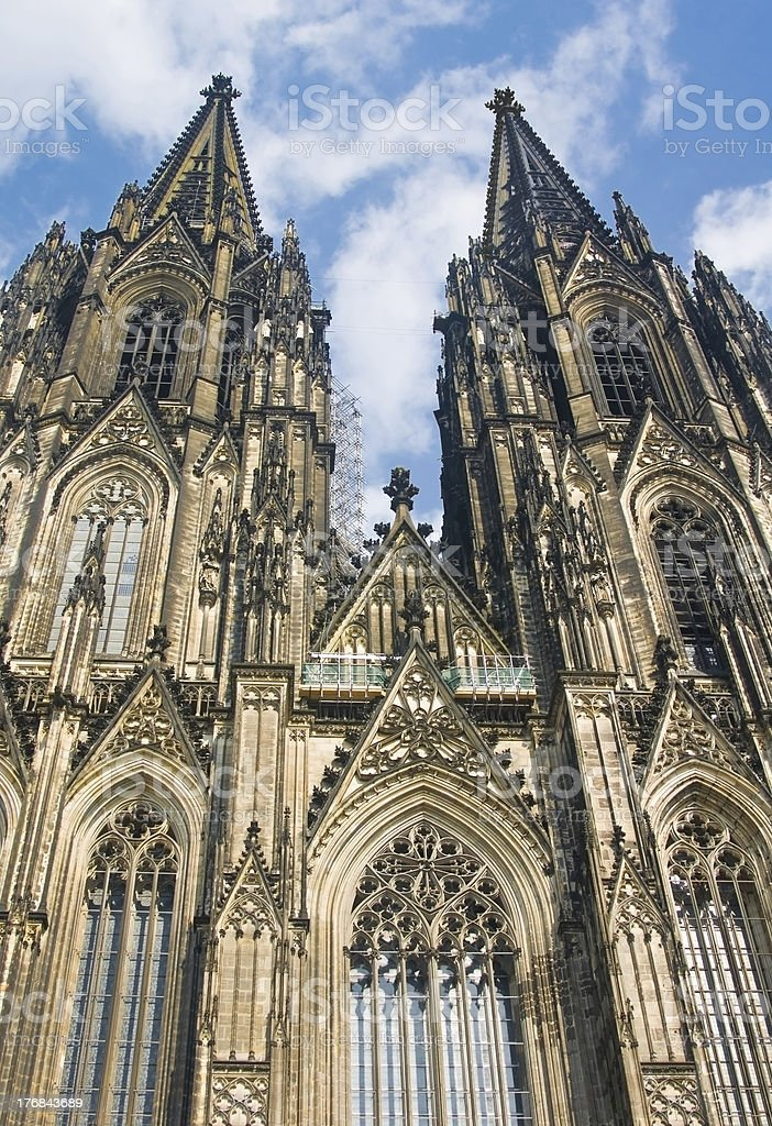 Koelner Dom (Cologne Cathedral) royalty-free stock photo