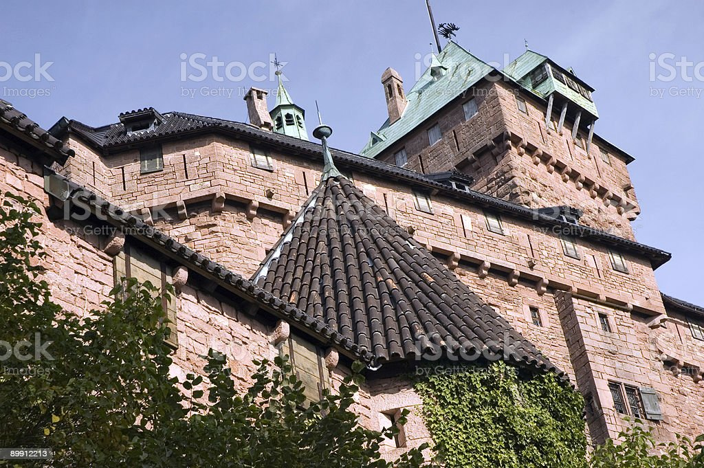 Koenigsburg Castle - France stock photo