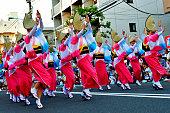 東京高円寺阿波踊り祭り