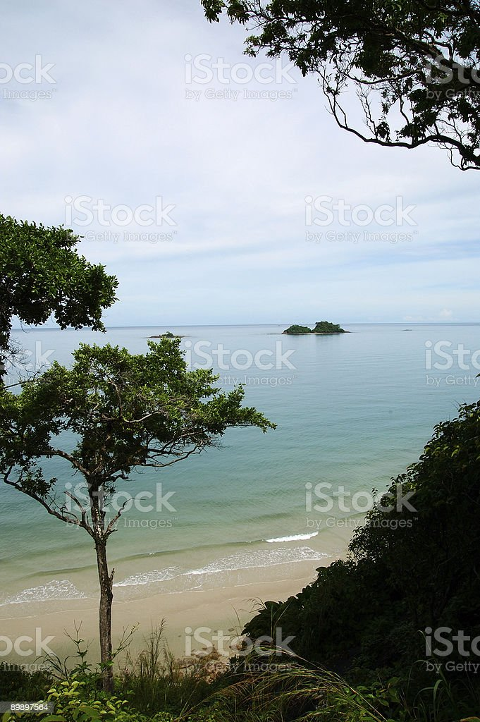 Koh Chang island royalty-free stock photo