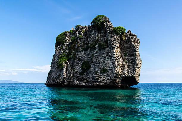 Koh Haa cinco islas - foto de stock