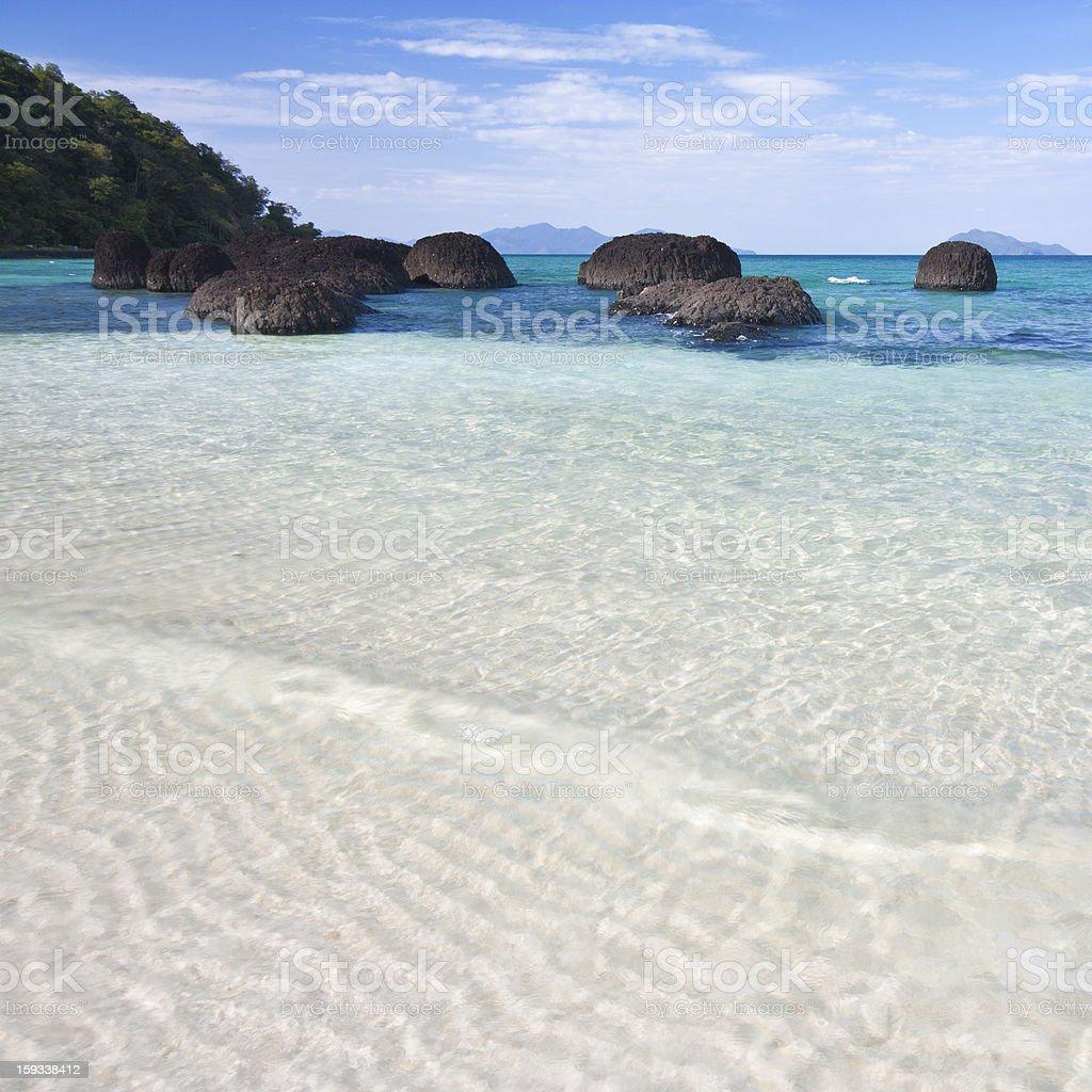 Koh Kham Beach royalty-free stock photo