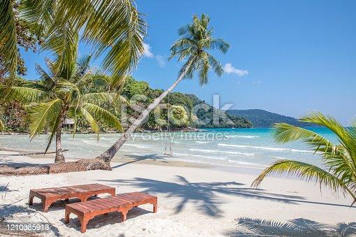 Beautiful tropical beach, Located Koh Kood  Island , Thailand