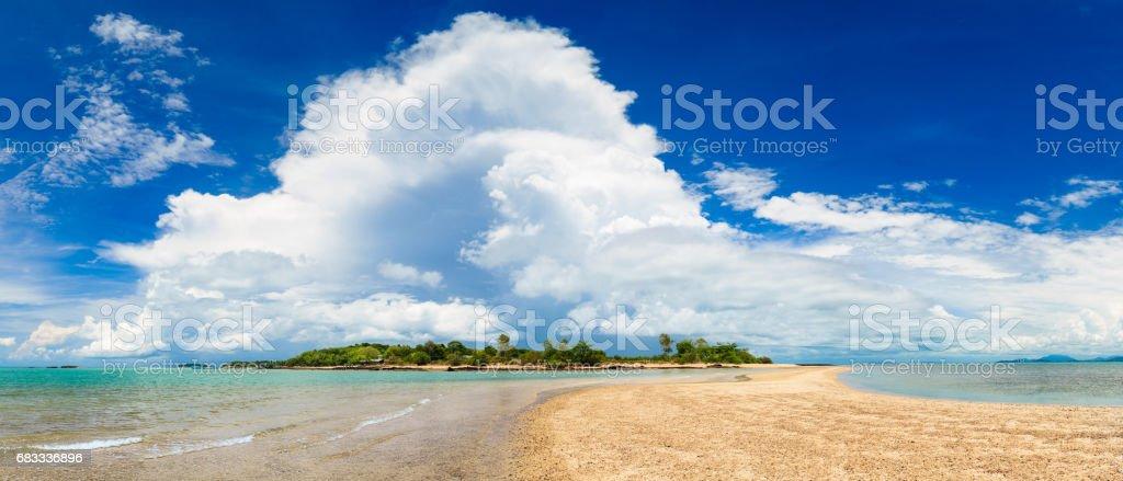 Koh Man Nai (Panorama) photo libre de droits