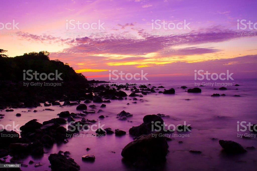 Koh Mat Sum Island. stock photo