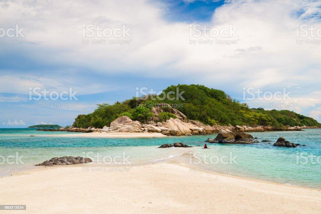 Koh Mun Klang (Mun Klang Island) zbiór zdjęć royalty-free