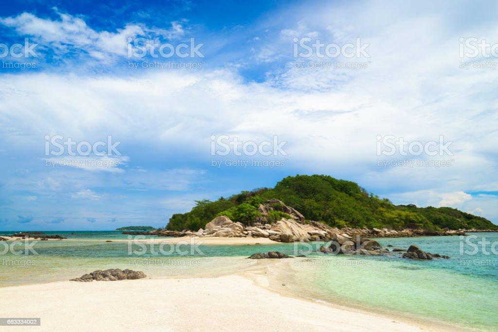 Koh Mun Klang (Mun Klang Island) royalty-free stock photo