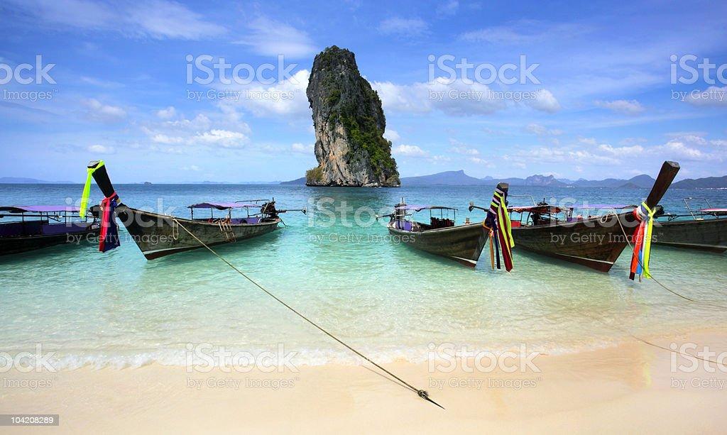 Koh Poda Beach Krabi, Southern Thailand stock photo