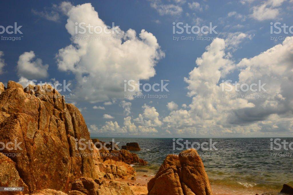 Koh Samui - Seascape stock photo