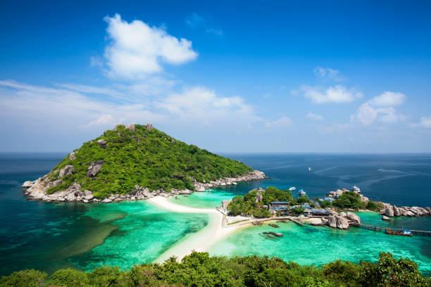 Koh Tao island in Thailand stock photo